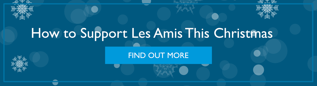 How to Support Les Amis This Christmas